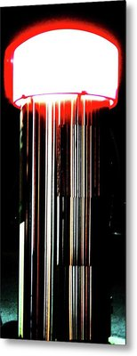 Metal Print featuring the photograph Front Center by Cyryn Fyrcyd