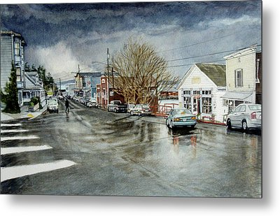 Front Metal Print by Perry Woodfin