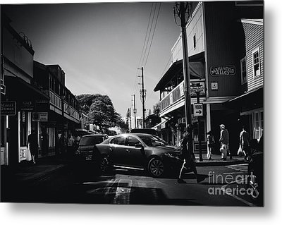 Metal Print featuring the photograph Front Street  by Sharon Mau