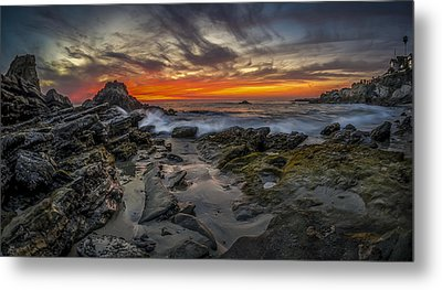 Metal Print featuring the photograph Front Yards Of Laguna Beach by Sean Foster