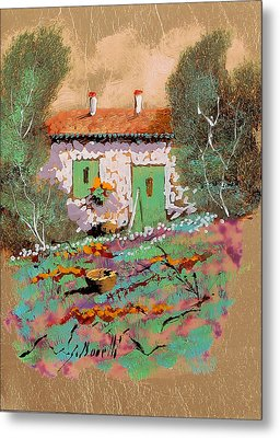 Frontale Metal Print by Guido Borelli