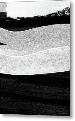 Frontier 23- Art By Linda Woods Metal Print by Linda Woods