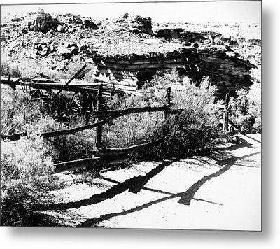 Frontier Homestead Metal Print