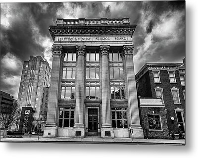 Frost Building - Lifeway Christian Resources Metal Print