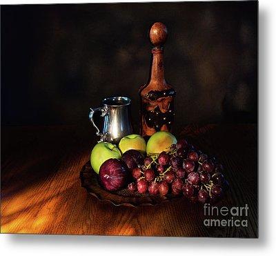 Fruit And Spirit Metal Print by Mark Miller
