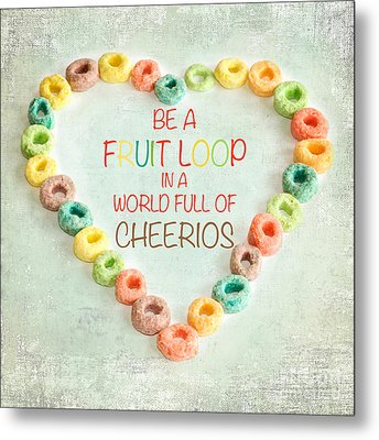 Fruit Loop Metal Print