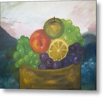 Fruit Of The Land Metal Print by Pamela Wilson