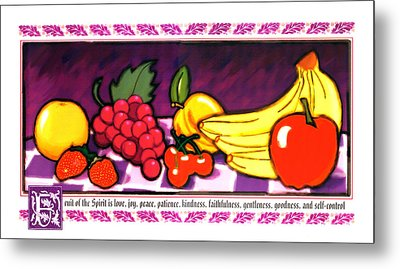 Fruit Of The Spirit Metal Print by Brett H Runion