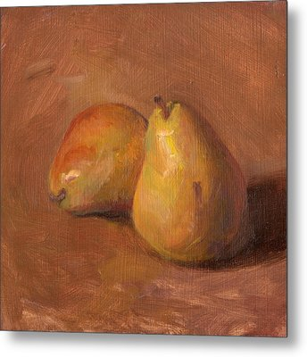 Fruit Of The Spirit- Pear 1 Metal Print by Timothy Chambers