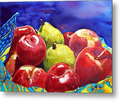 Fruitfully Yours Metal Print by Gerald Carpenter