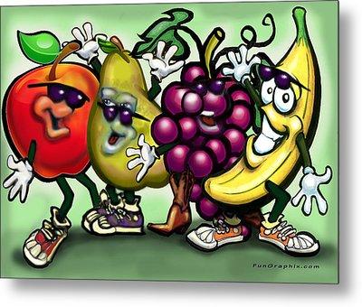 Fruits Metal Print by Kevin Middleton