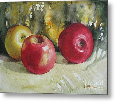Metal Print featuring the painting Fruits Of The Earth by Elena Oleniuc