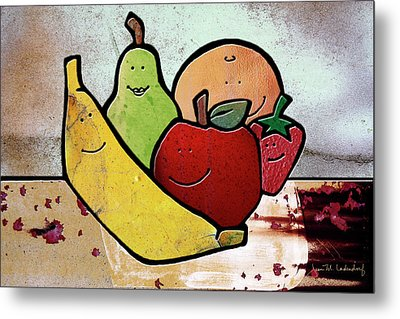 Fruity Metal Print