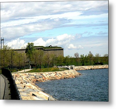 Ft Independence Castle Island South Boston Ma Metal Print