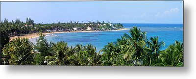 Full Beach View Metal Print