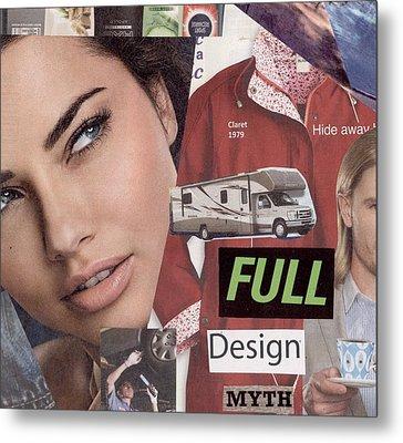 Full Design Myth Metal Print by Chaperone Picks