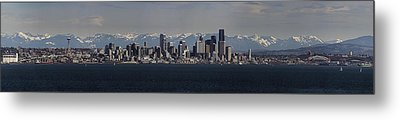 Full Frontal Seattle Metal Print by James Heckt