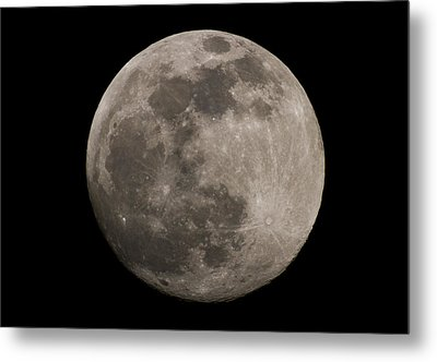 Metal Print featuring the photograph Full Moon by Nathan Rupert
