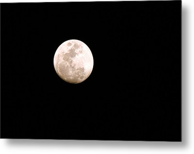 Metal Print featuring the photograph Full Moon by Riana Van Staden