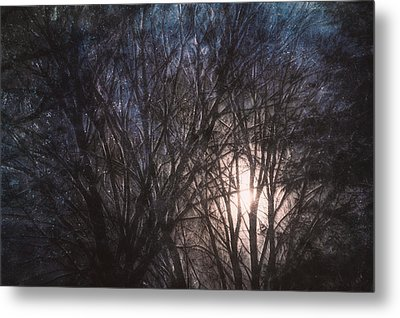 Full Moon Rising Metal Print by Scott Norris