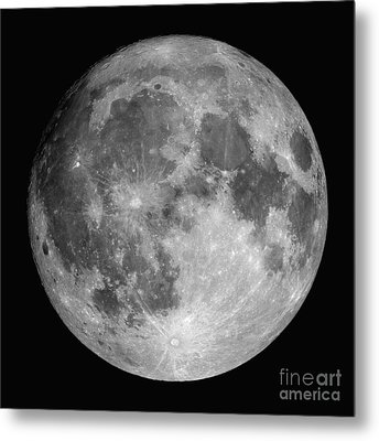 Full Moon Metal Print by Roth Ritter