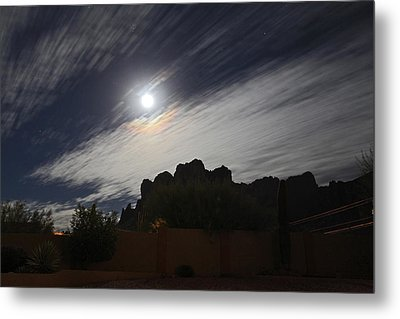 Metal Print featuring the photograph Full Streak by Gary Kaylor