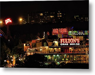 Fultons At Epcot Metal Print