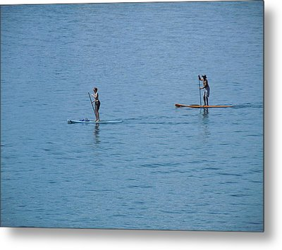 Metal Print featuring the photograph Fun In The Sun At Lake Tahoe by Dan Whittemore