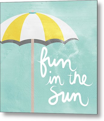 Fun In The Sun Metal Print by Linda Woods