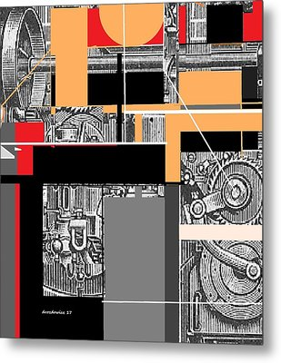 Furnace 2 Metal Print