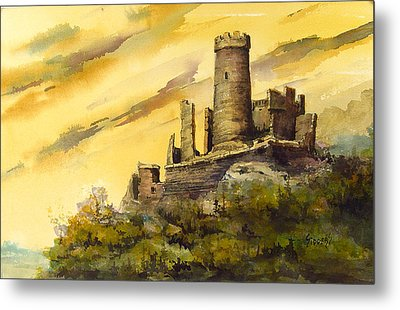 Furstenburg On The Rhine Metal Print by Sam Sidders