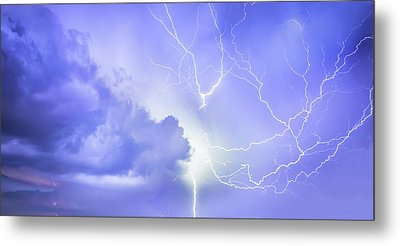 Fury Of The Storm Metal Print