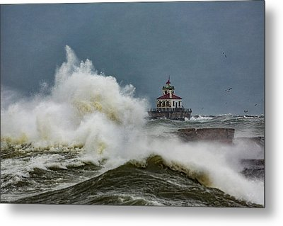 Metal Print featuring the photograph Fury On The Lake by Everet Regal