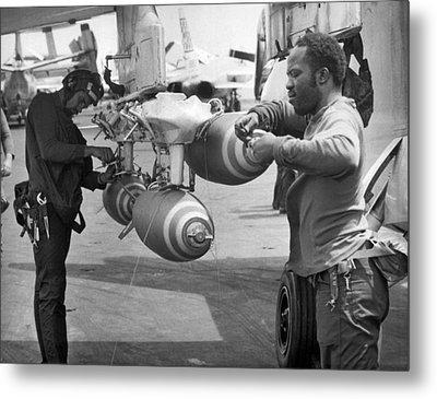 Fusing Bombs For North Vietnam Metal Print