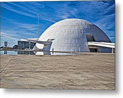 Metal Print featuring the photograph Future Dome by Kim Wilson
