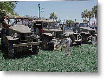 Future Soldier Metal Print by DigiArt Diaries by Vicky B Fuller