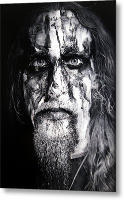 Gaahl Metal Print