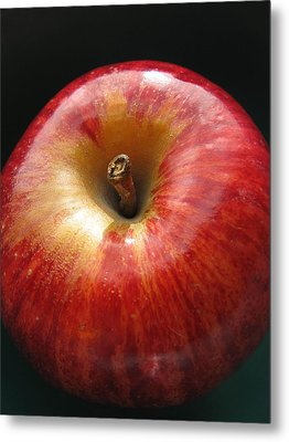 Metal Print featuring the photograph Gala Apple by Lindie Racz