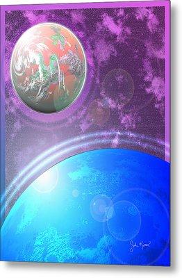 Galaxy 4 Metal Print by John Keaton