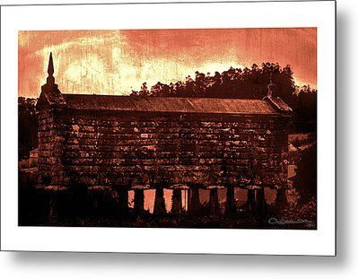 Galician Horreo Metal Print by Xoanxo Cespon