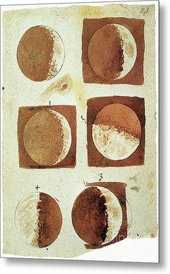 Galileo - Moon Metal Print by Granger