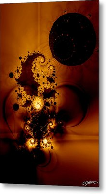 Galileo's Muse Metal Print by Casey Kotas