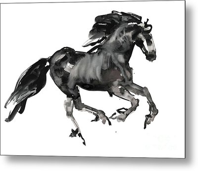 Gallop Metal Print by Mark Adlington
