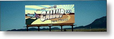 Gallup New Mexico Metal Print