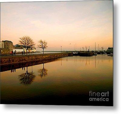 Galway Bay Sunset Metal Print
