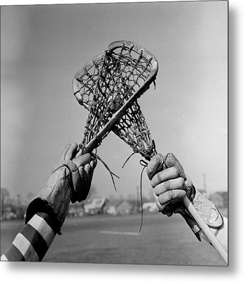 Game In Play Metal Print by Orlando