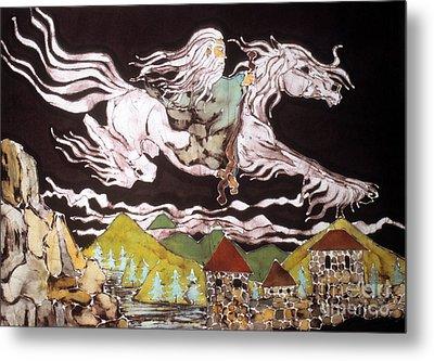 Gandalf And Shadowfax Metal Print