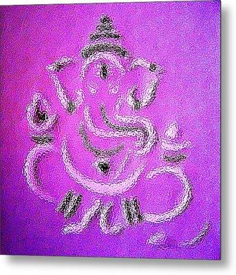 Ganesha Metal Print by Piety Dsilva