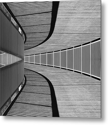 Metal Print featuring the photograph Gangway by Chevy Fleet