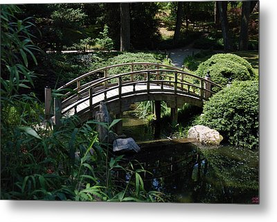 Garden Crossing Metal Print by Kelvin Booker